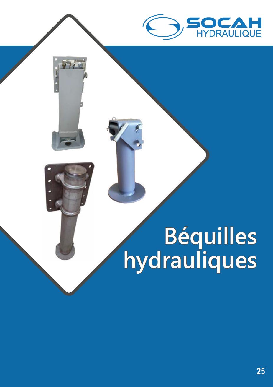 Fiche technique béquilles hydrauliques