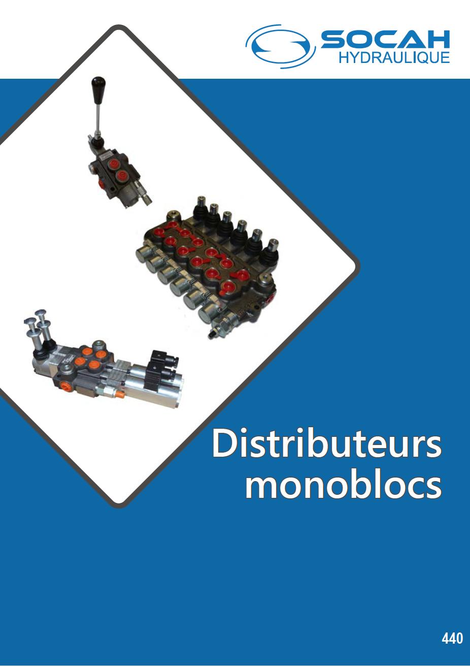 Fiche technique distributeurs monoblocs