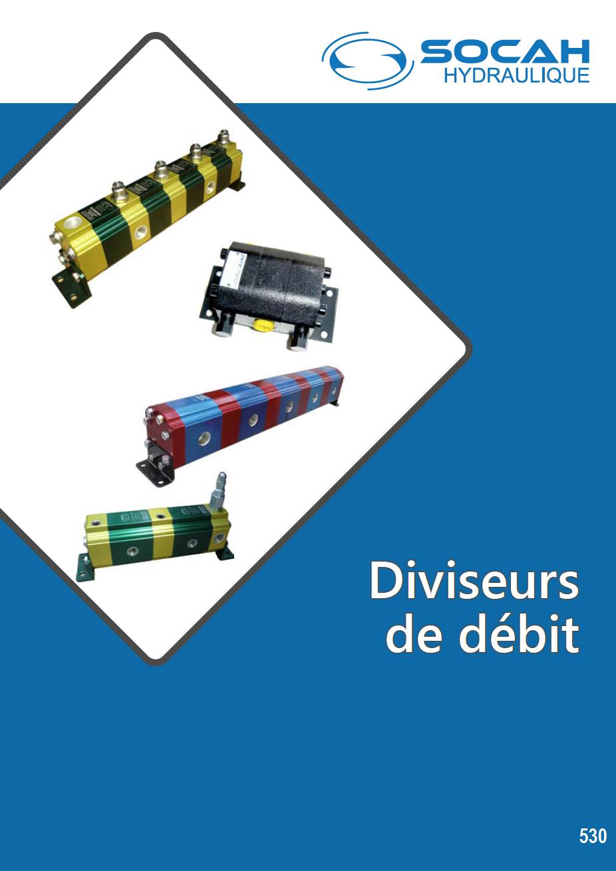 Fiche technique diviseurs de débit