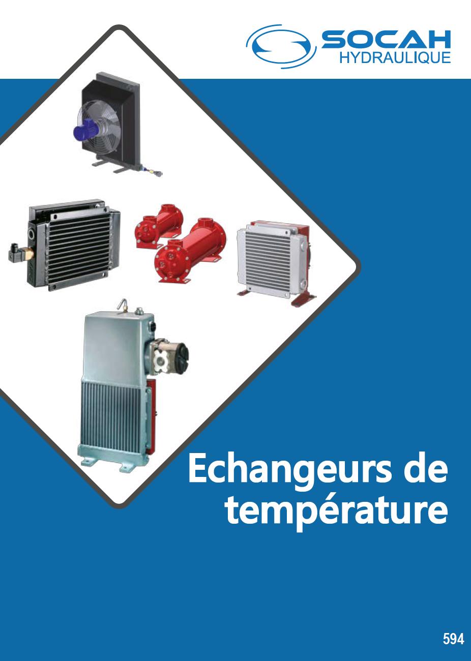 Fiche technique échangeurs de température