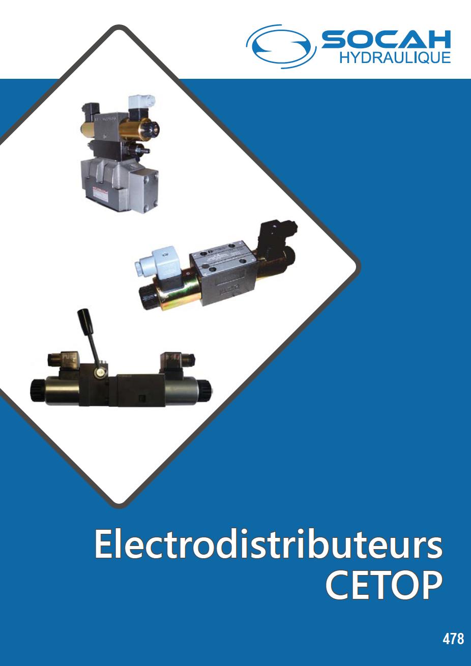 Fiche technique électrodistributeurs