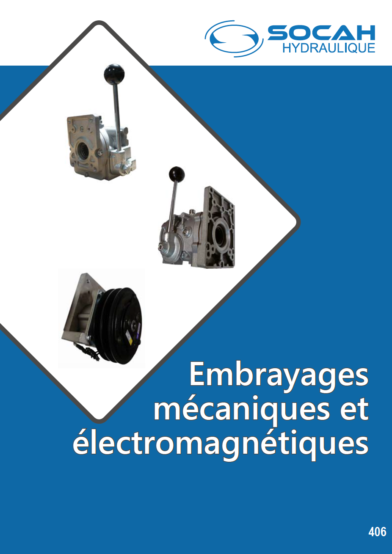 Fiche technique embrayages mecaniques et electromagnetiques