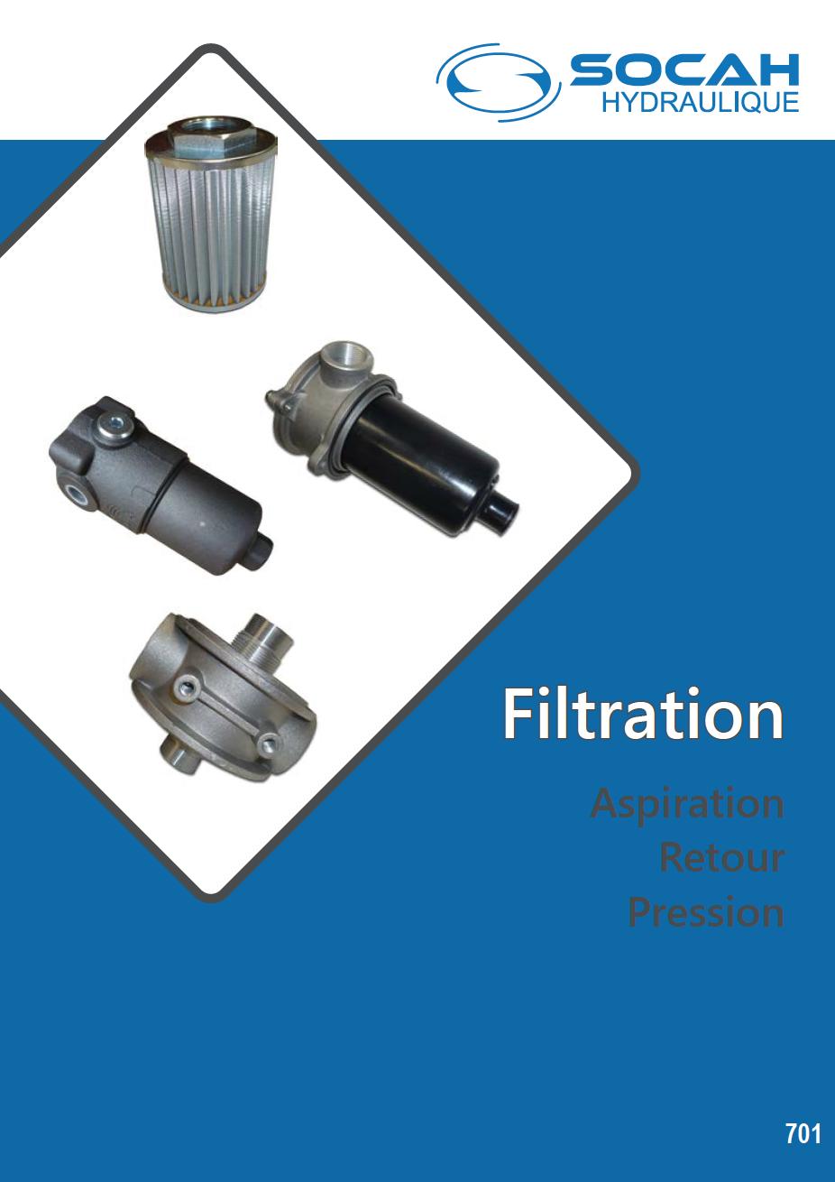 Fiche technique filtration