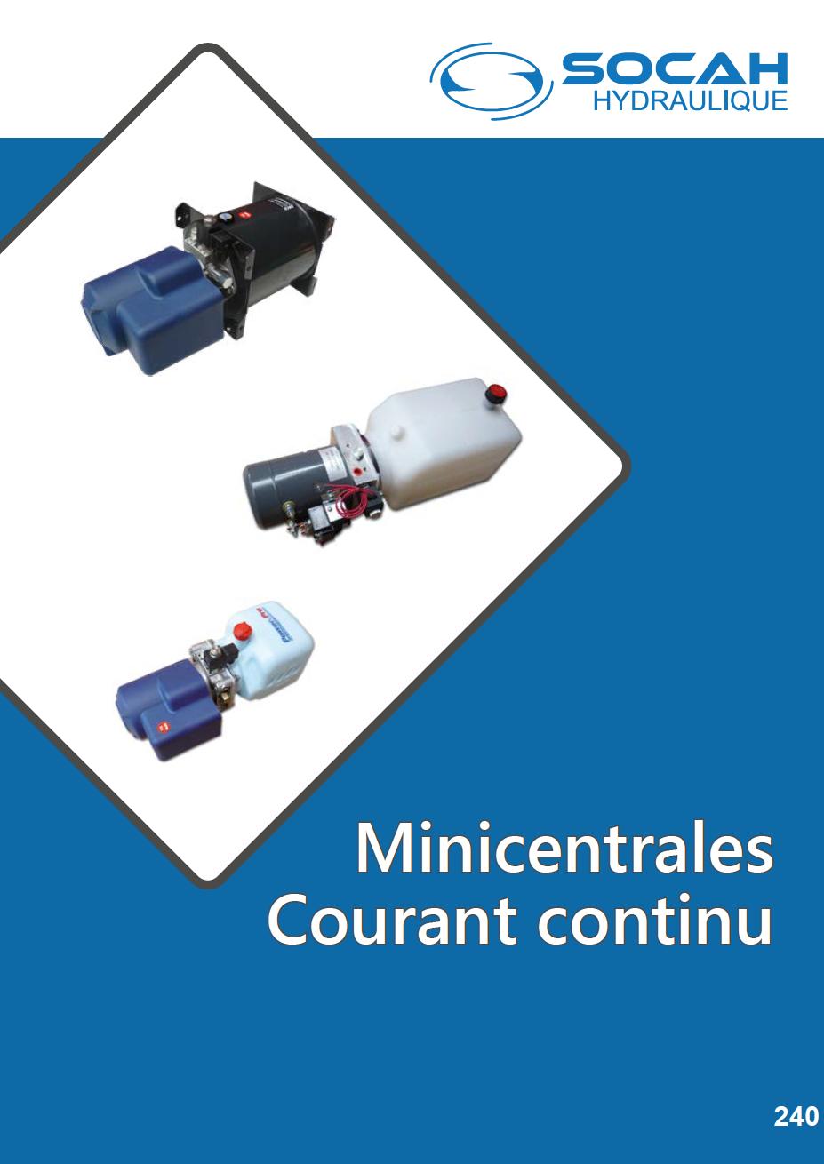 Fiche technique minicentrales courant continu