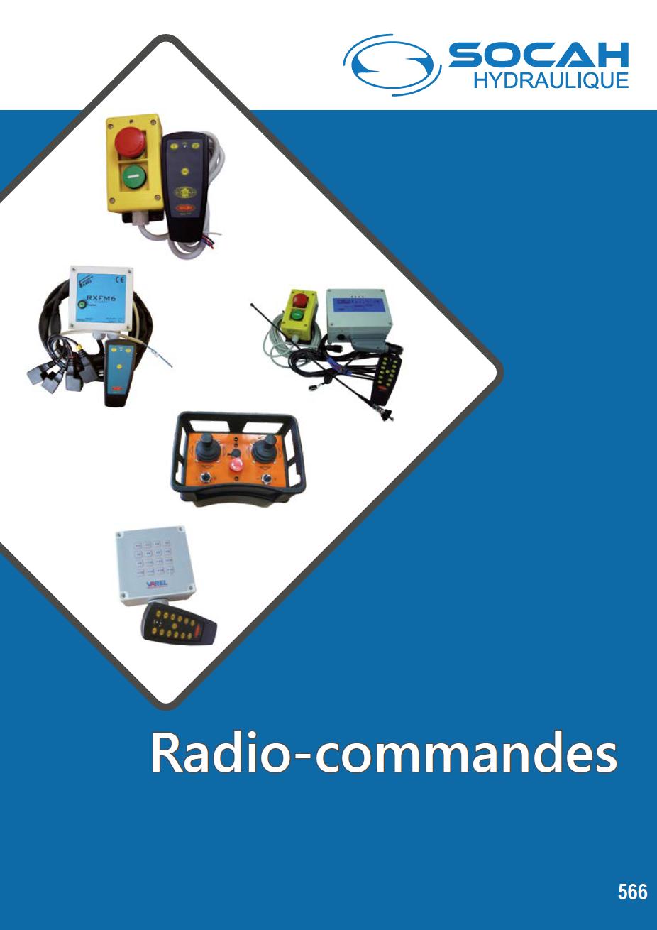 Fiche technique radio-commandes